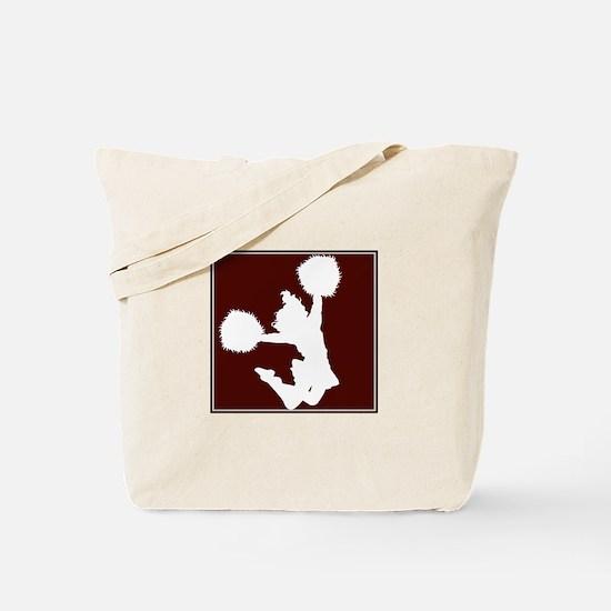 CHEER *11* {crimson/white} Tote Bag