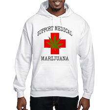 Support Medical Marijuana Jumper Hoody