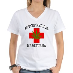 Support Medical Marijuana Shirt