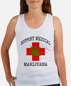 Support Medical Marijuana Women's Tank Top