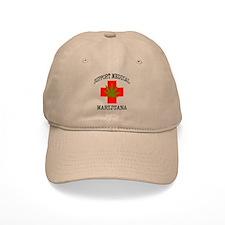 Support Medical Marijuana Baseball Baseball Cap
