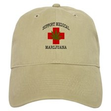 Support Medical Marijuana Baseball Cap