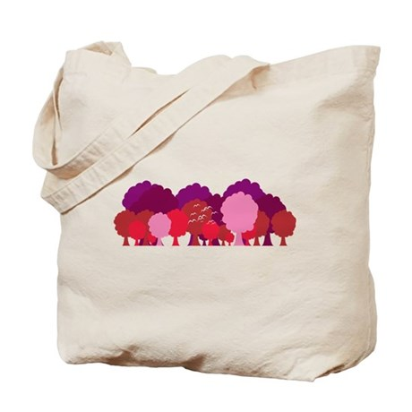 Body & Cola Red Forrest Tote Bag