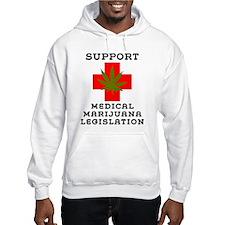 Support Medical Marijuana Legislation Jumper Hoody