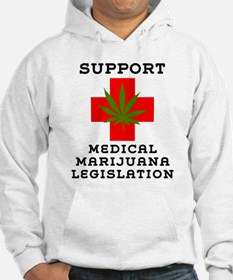 Support Medical Marijuana Legislation Jumper Hoody