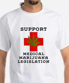 Support Medical Marijuana Legislation Shirt