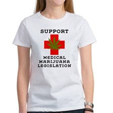 Support Medical Marijuana Legislation Tee