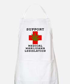 Support Medical Marijuana Legislation Apron