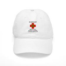 Support Medical Marijuana Legislation Baseball Cap