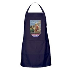 Cute Civilian casualties Apron (dark)