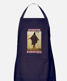 """Torture is Terror"" Apron (dark)"