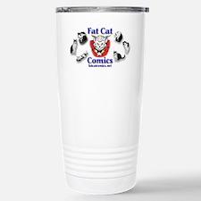 Fat Cat Comics Stainless Steel Travel Mug