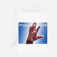 Praise the Lord Greeting Card
