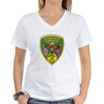 Hancock County Sheriff Women's V-Neck T-Shirt