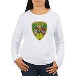 Hancock County Sheriff Women's Long Sleeve T-Shirt