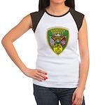 Hancock County Sheriff Women's Cap Sleeve T-Shirt