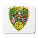 Hancock County Sheriff Mousepad