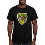 Hancock County Sheriff Men's Fitted T-Shirt (dark)