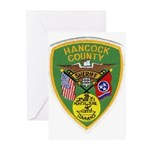 Hancock County Sheriff Greeting Cards (Pk of 20)