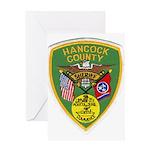 Hancock County Sheriff Greeting Card