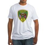 Hancock County Sheriff Fitted T-Shirt