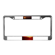 Dream Time License Plate Frame