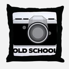Camera Lover Throw Pillow