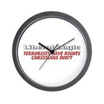 Liberal Logic Wall Clock