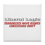 Liberal Logic Tile Coaster