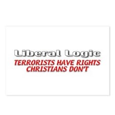 Liberal Logic Postcards (Package of 8)