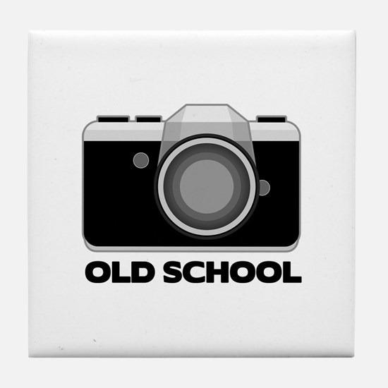 Camera Lover Tile Coaster