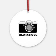 Camera Lover Ornament (Round)