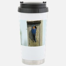 Bluebird Family Travel Mug