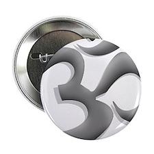 "Metallic Om 2.25"" Button"