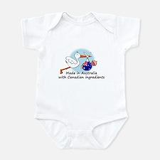 Stork Baby Australia Canada Onesie