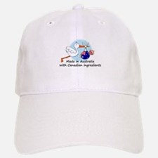Stork Baby Australia Canada Baseball Baseball Cap