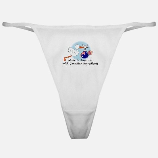 Stork Baby Australia Canada Classic Thong
