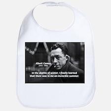 Albert Camus Motivational Bib