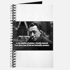 Albert Camus Motivational Journal