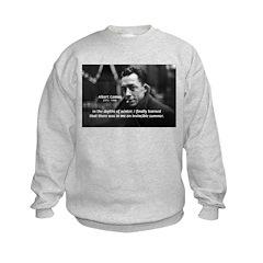 Albert Camus Motivational Sweatshirt