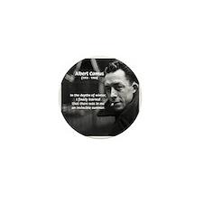 Albert Camus Motivational Mini Button (100 pack)