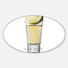 Unique Tequila Sticker (Oval)