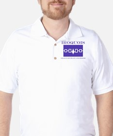 Iroquois Flag Golf Shirt
