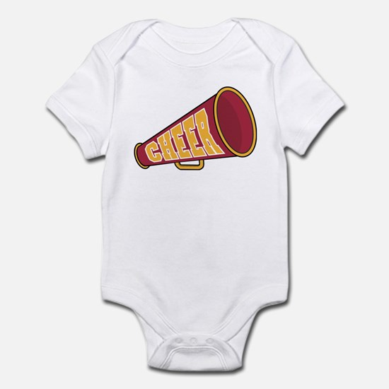 MEGAPHONE *1* {red/yellow} Infant Bodysuit