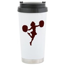 CHEER *14* {maroon} Travel Mug