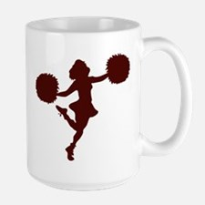 CHEER *14* {maroon} Large Mug
