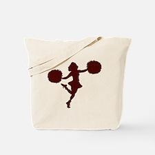 CHEER *14* {maroon} Tote Bag