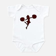 CHEER *14* {maroon} Infant Bodysuit