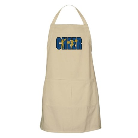 CHEER *15* {blue/gold} Apron