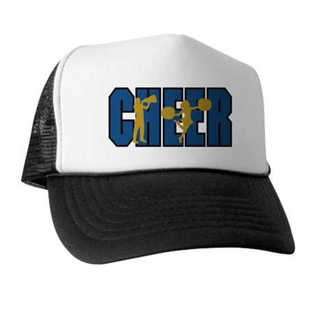 CHEER *15* {blue/gold} Trucker Hat